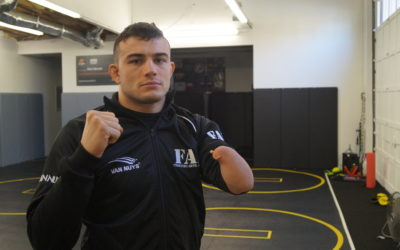 Nick Newell Speaks on Fighting, Training, and the Professional Hustle
