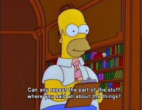 homer simpson asking questions in an interview